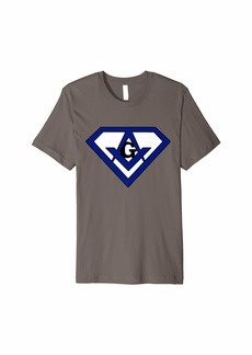 Splendid Freemasonry SuperMason Shirt - Blue/White Variant