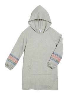 Splendid French Terry Hooded Sweatshirt Dress  Size 7-14