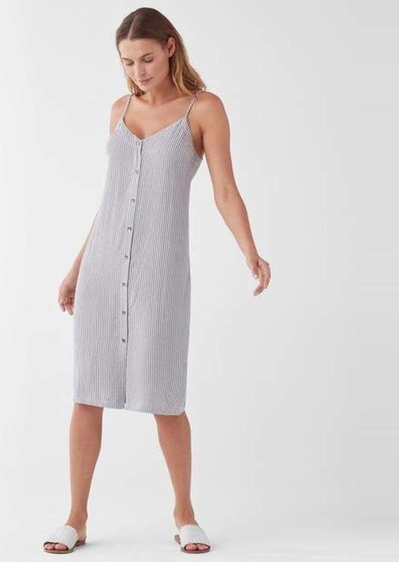 Splendid Gidget Button Front Midi Dress