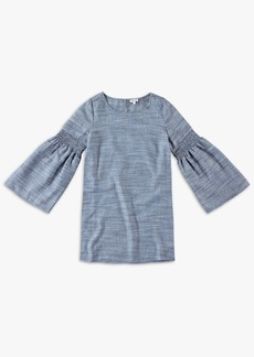 Splendid Girl Bell Sleeve Midi Dress