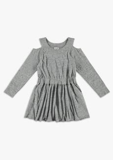 Splendid Girl Cold Shoulder Waisted Dress