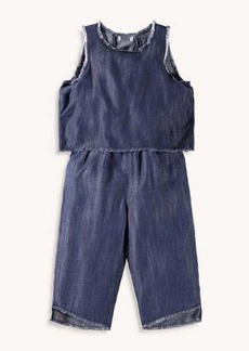 Splendid Girl Denim Romper