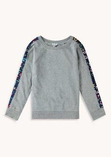Splendid Girl Floral Stripe Pullover