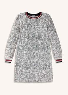 Splendid Girl Leopard Sweater Knit Dress