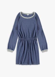 Splendid Girl Long Sleeve Midi Dress
