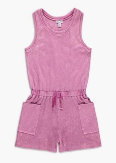Splendid Girl Mineral Wash Rib Romper