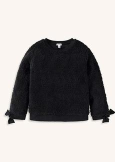 Splendid Girl Sherpa Sweatshirt