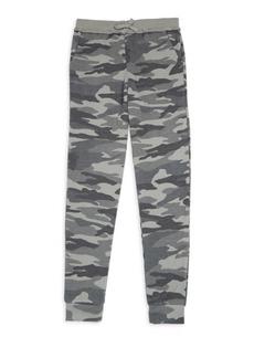 Splendid Girl's Camo Print Sweatpants