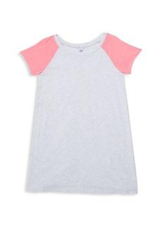 Splendid Girl's Colorblock T-Shirt Dress
