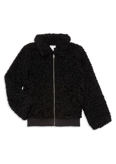 Splendid Girl's Faux Fur Jacket