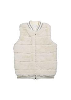 Splendid Girl's Faux Fur Vest  Size 7-14