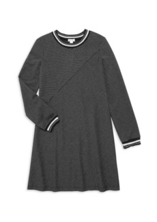 Splendid Girl's Lurex Stripe Dress