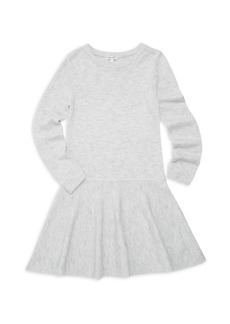 Splendid Girl's Mermaid Knit A-Line Sweater Dress