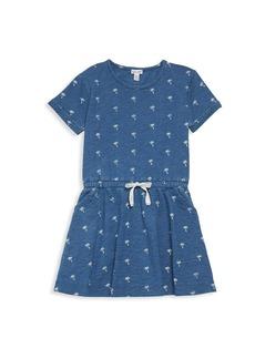 Splendid Girl's Palm Tree T-Shirt Dress