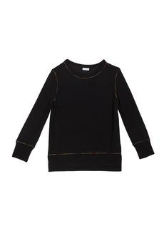 Splendid Girl's Rainbow Stitch Shirt  Size 7-14