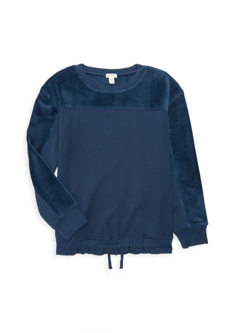 Splendid Girl's Super Soft Velour Top