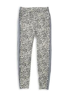 Splendid Girl's Taped Leopard Leggings