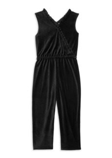 Splendid Girl's Velour Jumpsuit