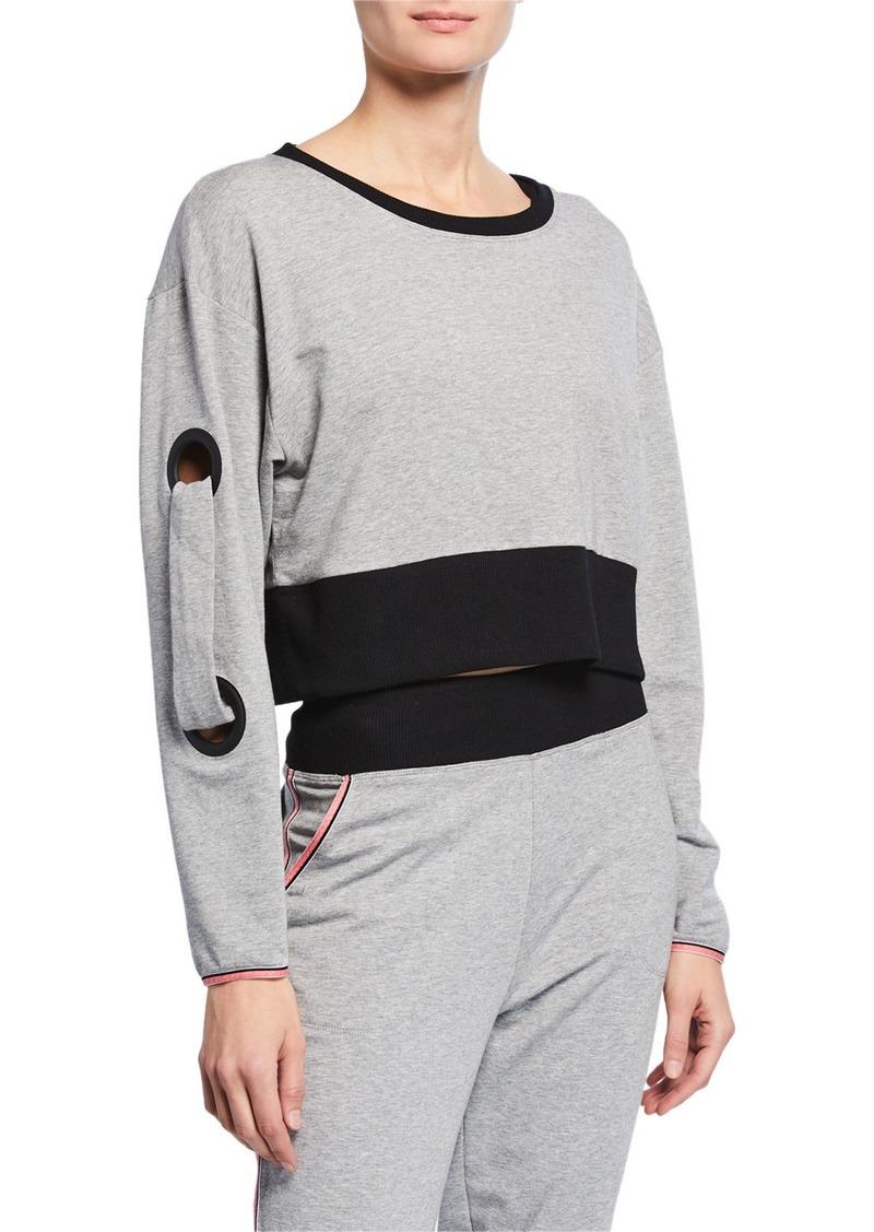 Splendid Grommet Pullover