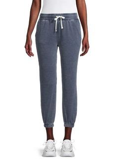 Splendid Heathered Cotton-Blend Jogger Pants