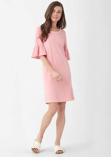Splendid Heavy Slub Ruffle Sleeve Dress