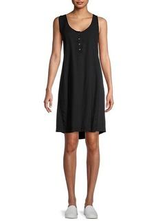 Splendid Henley T-Shirt Dress