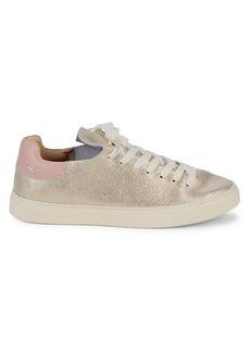 Splendid Hickort Glitter Suede Sneakers