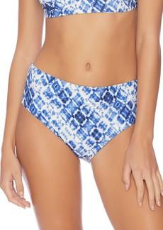 Splendid Hidden Shores High Waist Bikini Bottoms