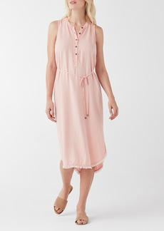 Splendid High/Low Midi Dress