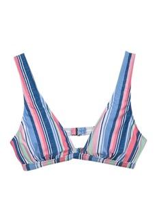 Splendid Holding Pattern Halter Bikini Top