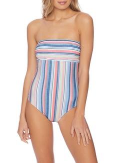 Splendid Holding Pattern One-Piece Swimsuit