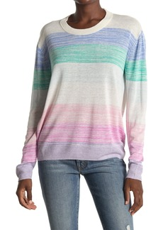 Splendid Hull Stripe Linen Blend Sweater