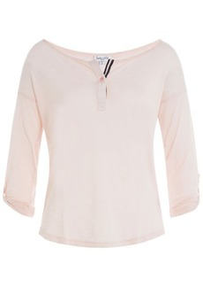 Splendid Jersey Top with Cotton
