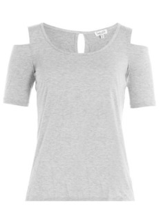 Splendid Jersey Top with Cut-Out Detail