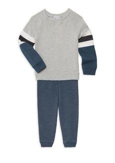 Splendid Kid's & Little Boy's Two-Piece Sweatshirt & Pants Set
