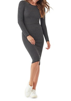Splendid Kinsley Striped Long-Sleeve Dress