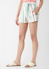 Splendid La Paz Striped Twill Short