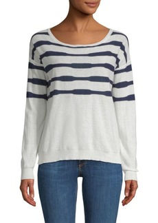 Splendid Las Olas Lightweight Striped Sweater