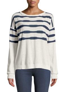 Splendid Las Olas Linen-Blend Pullover Sweater