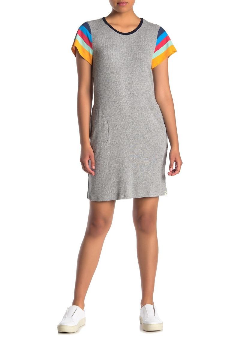 Splendid Lifeguard Stripe Sleeve Dress