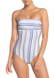 Splendid Line of Sight Off-the-Shoulder One-Piece Swimsuit