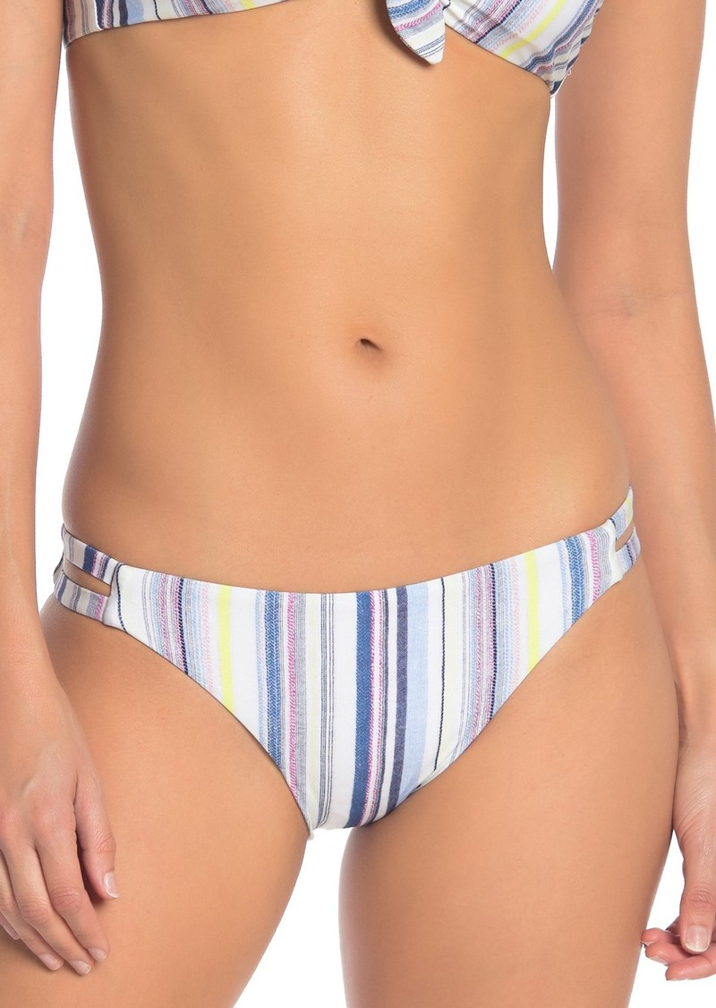 Splendid Line of Sight Striped Bikini Bottoms