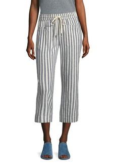 Splendid Linen Drawstring Pants