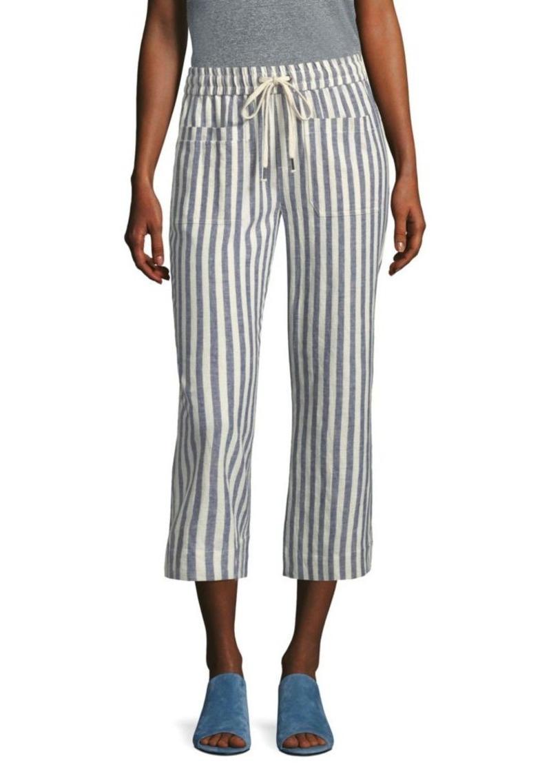 Splendid Striped Drawstring Pants