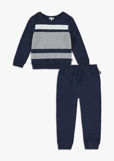 Splendid Little Boy Color Block Sweatshirt Set