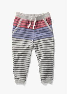 Splendid Little Boy French Terry Stripe Print Pant