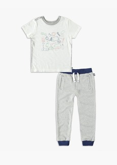 Splendid Little Boy Screen Tee Set