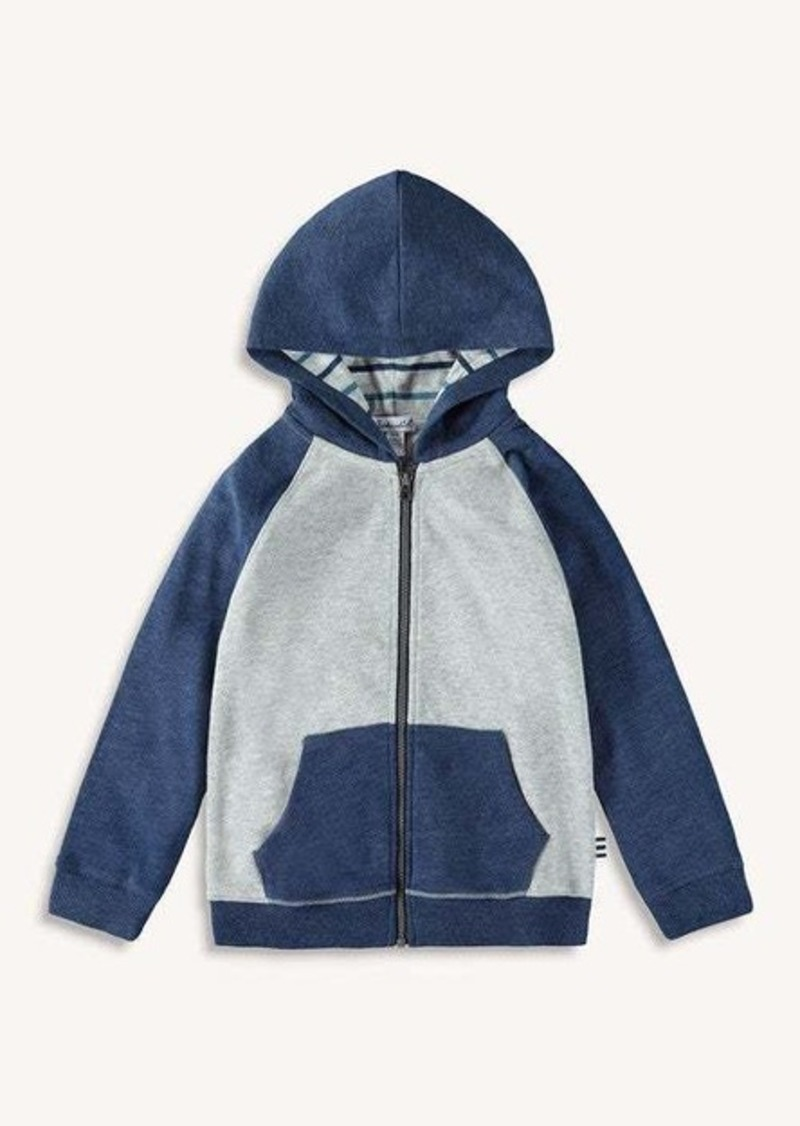 Splendid Little Boy Stripe Lined Hoodie