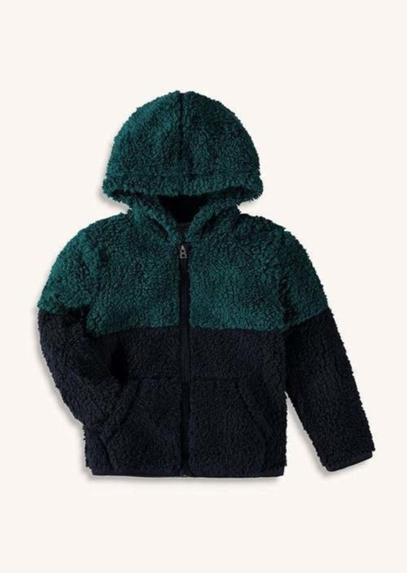 Splendid Little Boy Two Tone Sherpa Hoodie