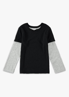Splendid Little Boy Washed Baseball Tee